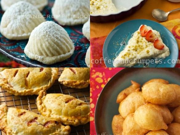 Date Ma'amouls, Layli Lubnan, Apple Rhubarb Pies and Luqaimat