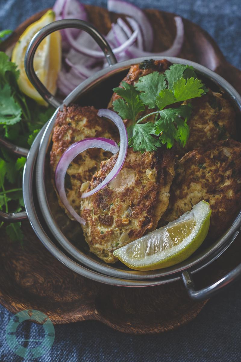 Ground Chicken Kebab