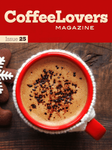 Coffee Lovers Magazine Issue 25 Cover