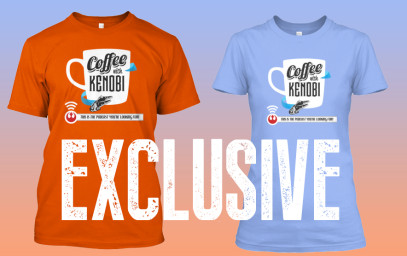 Purchase Your Coffee With Kenobi T-Shirt here