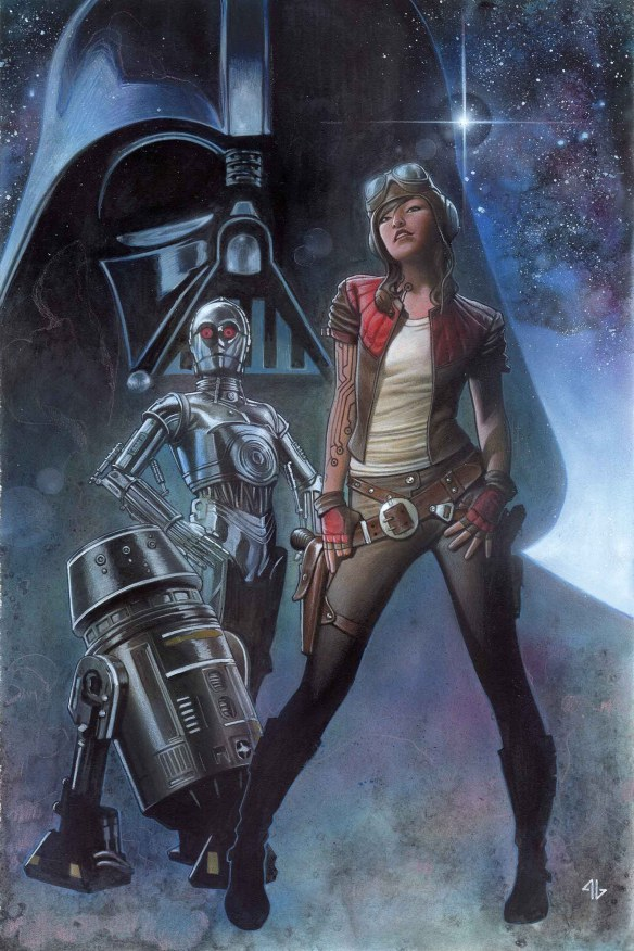 "(The cover of ""Darth Vader"" No. 3/Marvel Entertainment)"