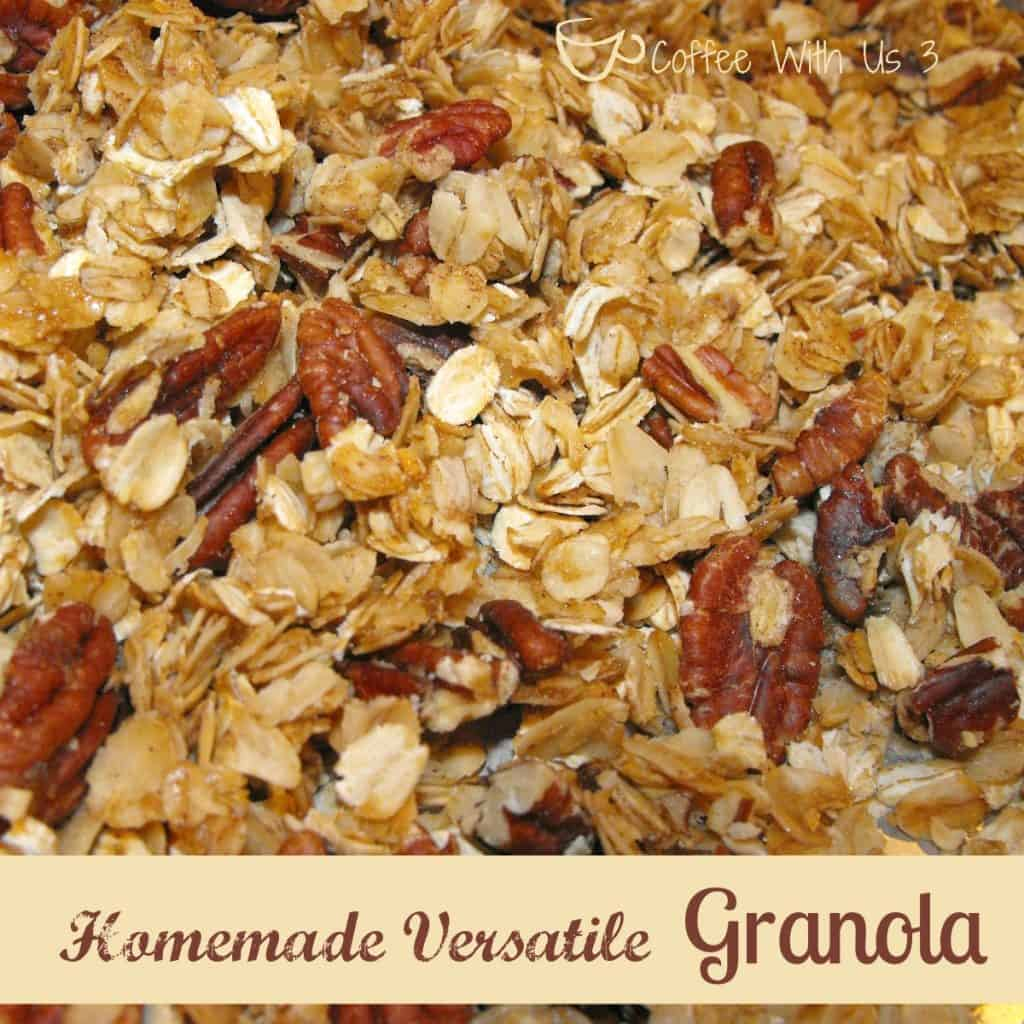 Easy and Versatile Homemade Granola - Coffee With Us 3