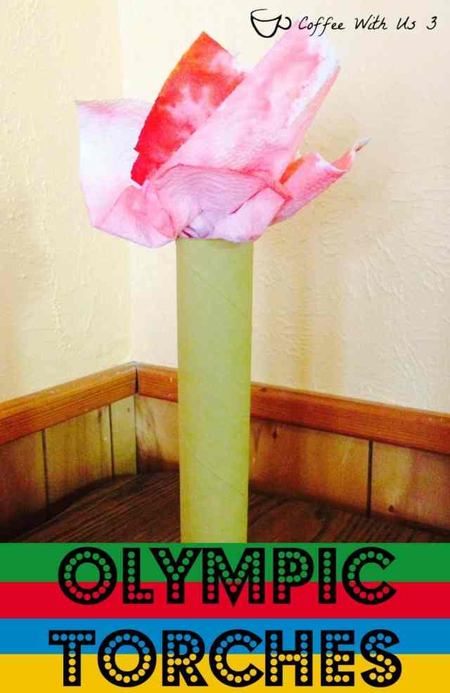 Olympic Torches Kids Craft