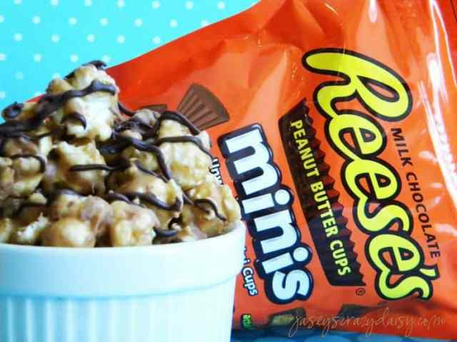 Reese's Peanut Butter Cup Popcorn Recipes — Dishmaps