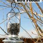 Mason Jar Bird Feeders