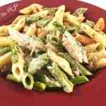 Creamy Chicken and Asparagus Pasta