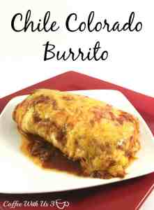Chile Colorado Burrito - Coffee With Us 3