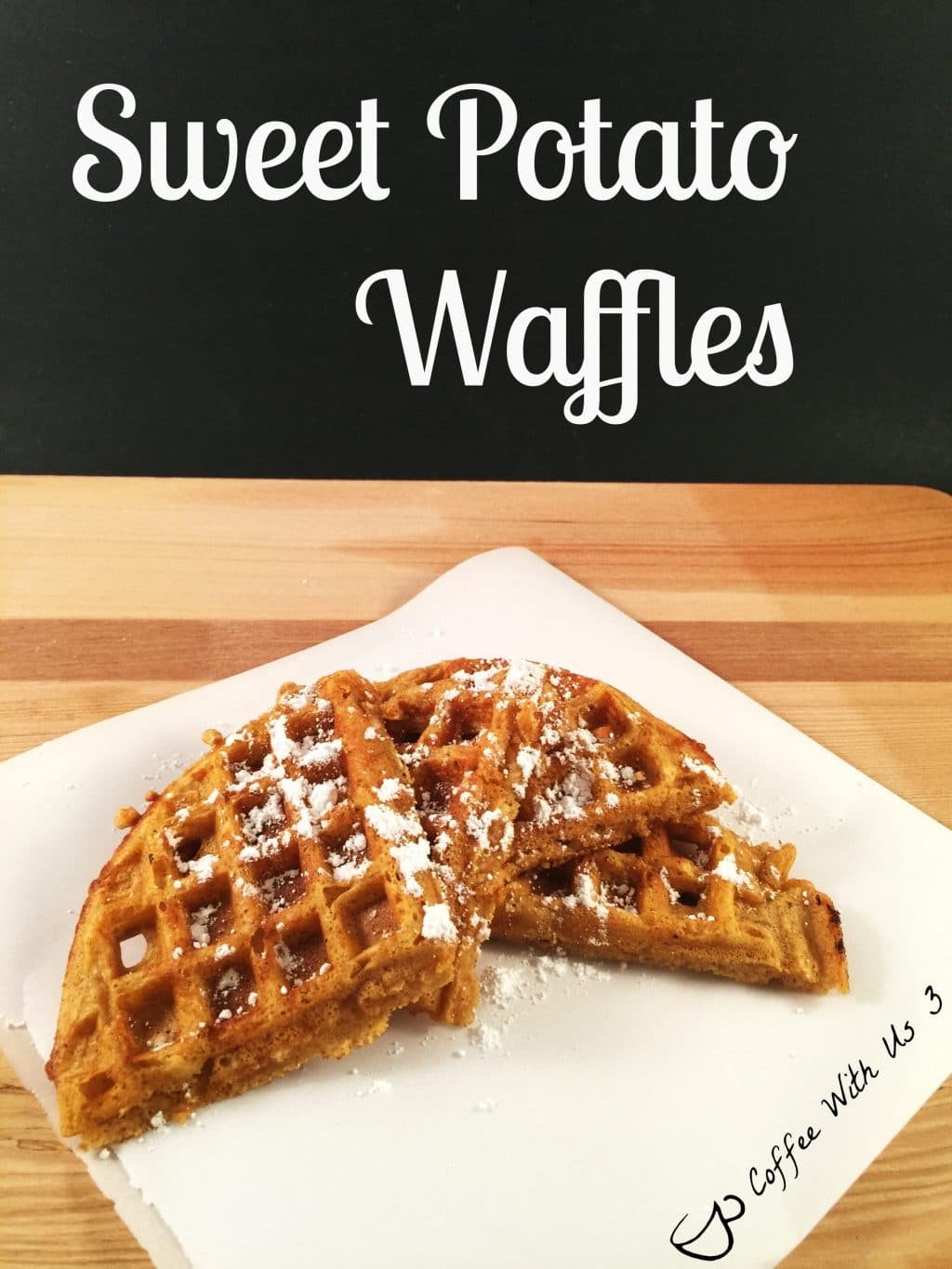 Sweet Potato Waffles are a great twist on plain ole waffles. They have ...