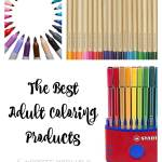 The Best Adult Coloring Products