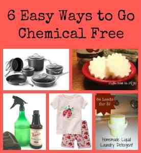 6 Easy Ways To Go Chemical Free