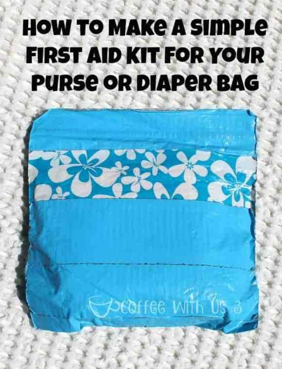 Simple First Aid Kit Tutorial