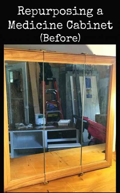 Repurposing a Medicine Cabinet (Before)