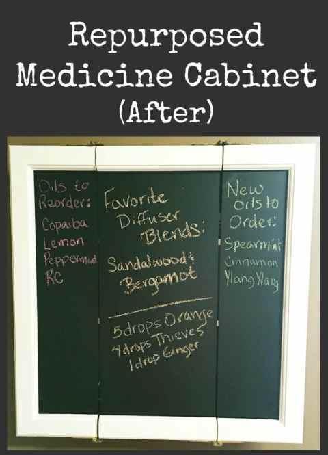 Repurposed Medicine Cabinet after
