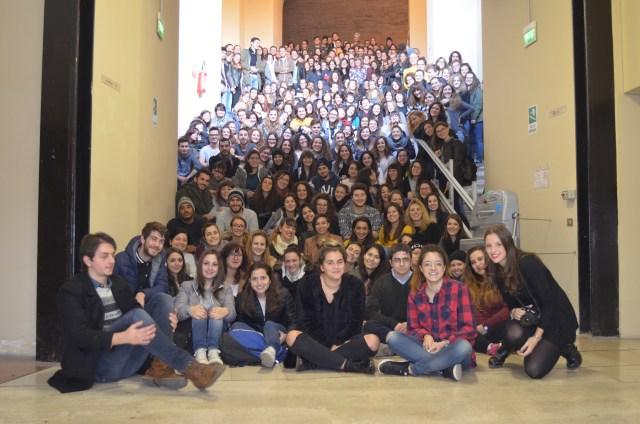 Studenti del CdS in Filosofia e Scienze e Tecniche Psicologiche dell'Università degli Studi di Perugia AA 2015-2016