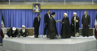 Photo source: website of the Supreme Leader of Iran, via newstimes.com