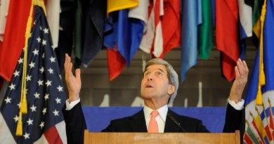 U.S. Secretary of State Speaks at the OAS