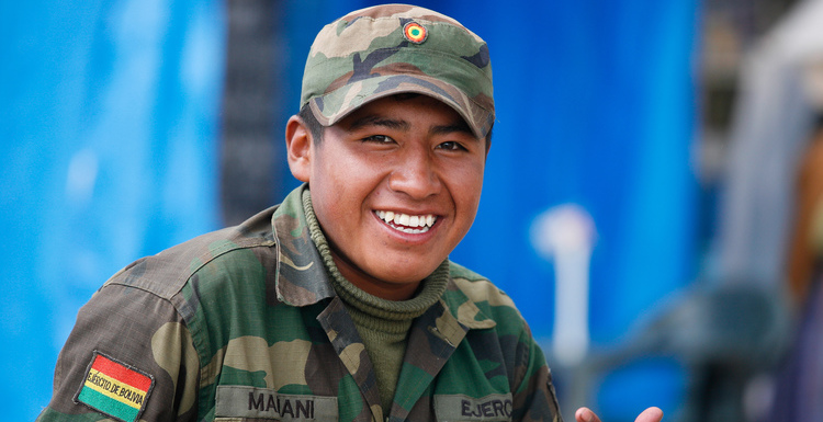 Front Bolivia Army