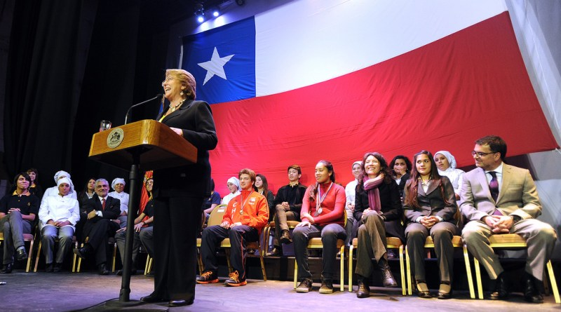 """Chile: The Midlife Crisis of Michelle Bachelet's Second Term. Are Bachelet's """"Policies that Change Cultures"""" Reaching Their Premature End?"""