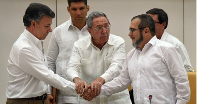 The War Is Over: Colombian Government and FARC Rebel Group Agree to a Peace Agreement Ending the Decades-long Armed Conflict