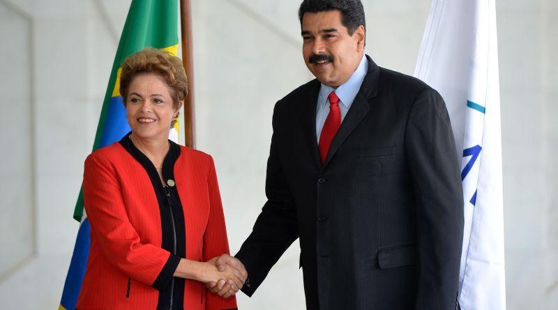 Na 48ª Cúpula dos Chefes de Estado do Mercosul e Estados Associados a presidenta Dilma Rousseff, recebe o presidente da Venezuela, Nicolás Maduro (Wilsom Dias/Agência Brasil)