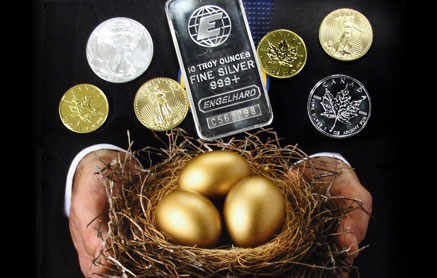 Add Gold, Silver, or Platinum to Your IRA or SEP Plan