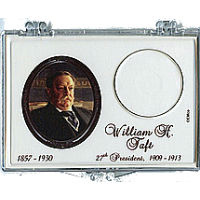 Marcus 2013 $1 Taft Coin Holder
