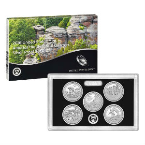 2016S 5-piece quarter Silver Proof set