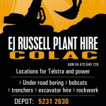 EJ RUSSEL PLANT HIRE
