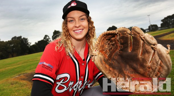 Sole female baseballer a part of Braves' family