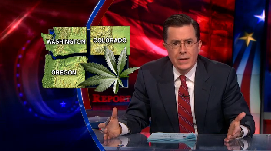 Marijauna on The Colbert Report