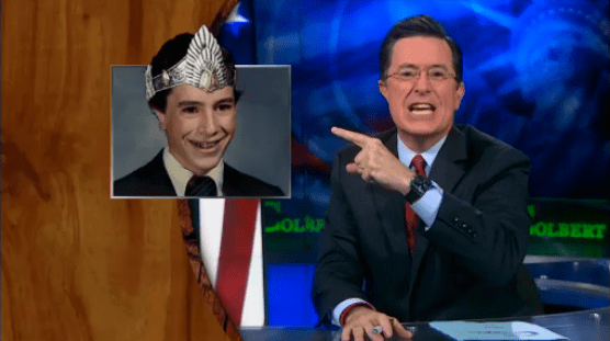 Stephen Colbert King Geek