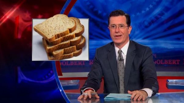 The Colbert Report on wheat addiction