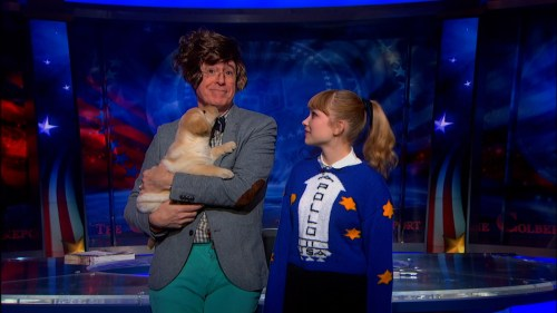Stephen Colbert made over by Tavi Gevinson