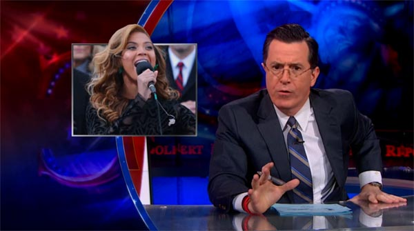 Stephen Colbert on Beyonce