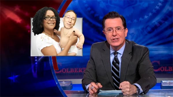 Stephen Colbert on American demographics