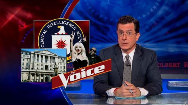 The Colbert Report on the CIA