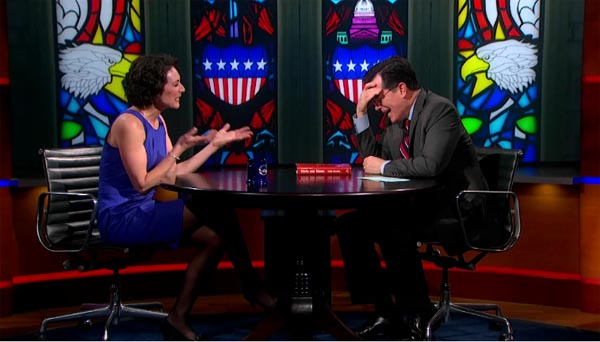 Emily Bazelon on The Colbert Report