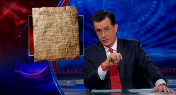 The Colbert Report on gay marriage