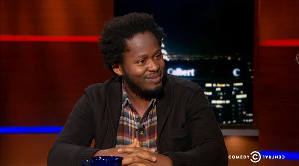 Ishmael Beah Colbert Report interview