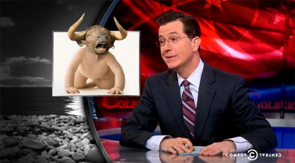 Stephen Colbert on infertility