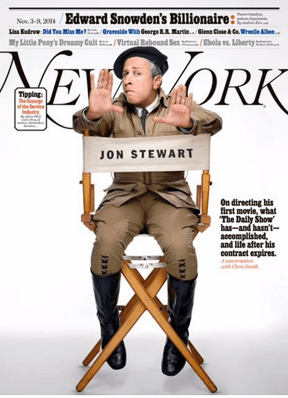 Jon Stewart in New Yorkk Magazine 2014