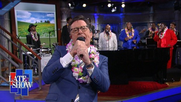 Stephen Colbert Performs the Song of the Summer