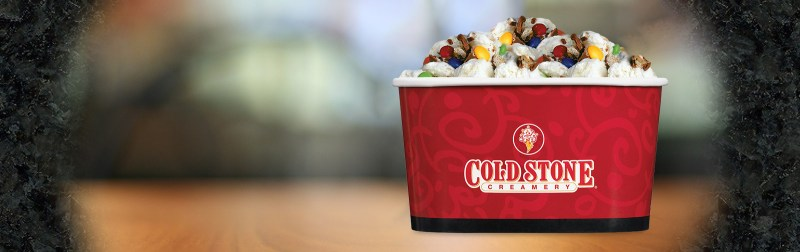 Large Of Cold Stone Sizes