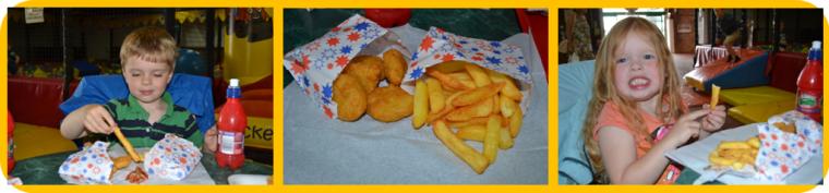 diggerland food