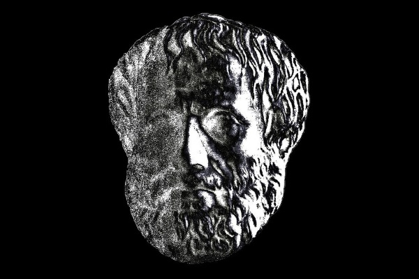 Aristoteles por Karl-Ludwig Poggemann