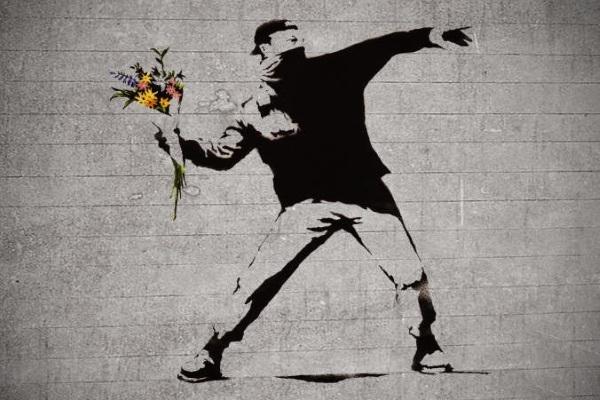 Banksy rebel