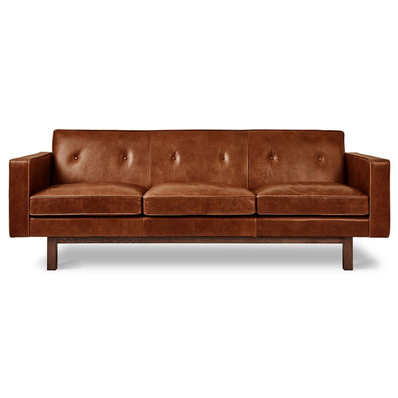 Large Of Brown Leather Sofa