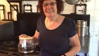 Yolande Serves Coffee - Colleen Friesen