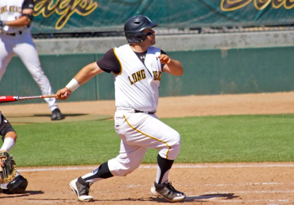 Ino Patron knocked four hits Saturday. (Photo: Shotgun Spratling)