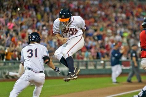 Thomas Woodruff jumps for joy at the victory. (Photo: Shotgun Spratling)